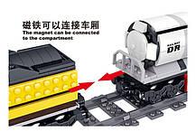 Железная дорога Конструктор Грузовой поезд с мотором. Qunlong QL0313, фото 3