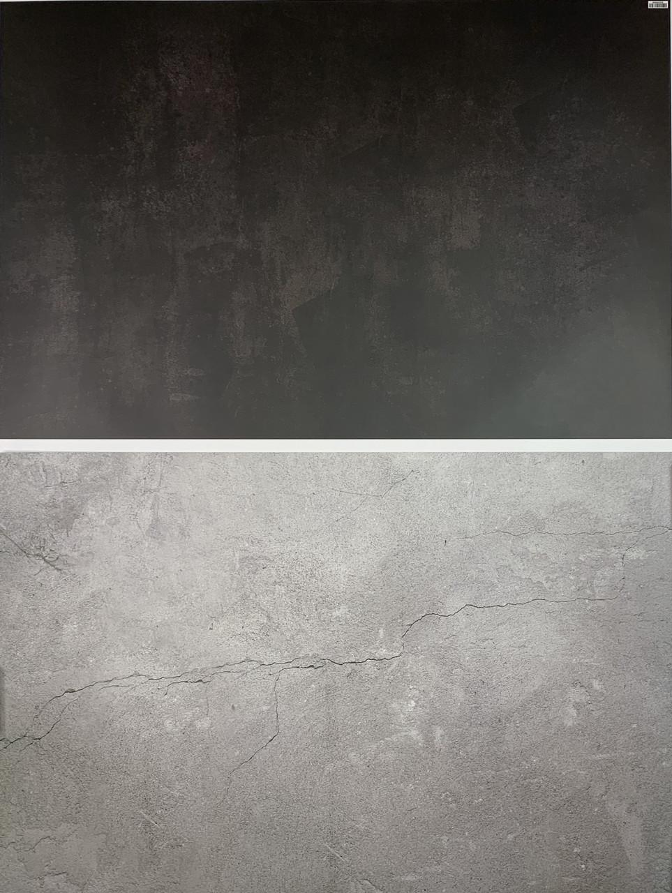 Двухсторонний 3D Виниловый фон для фото. Влагостойкий, анти-блик 57х87 см Студийные фотофоны для предметной