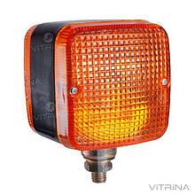 Фонарь cветодиодный LED (ЛЕД) габаритный квадратный универсальный 88 мм х 88 мм х 80 мм 12 В   VTR