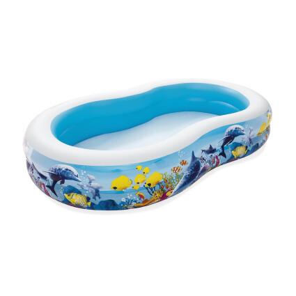 Bestway Детский надувной бассейн Bestway 54118 (262х157х46 см)