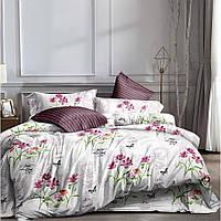 Полуторное постельное белье Бязь Ranforse (100% хлопок) - Пустнынный цветок