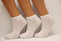 Женские носки короткие классика Ф3  белый