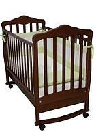 Детская кроватка Соня ЛД 11 (орех)