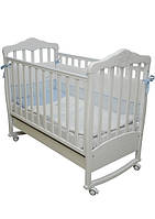Детская кроватка Соня ЛД 11 (белый)