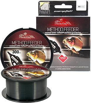 Леска Energofish Carp Expert Method Feeder Teflon Coated 300 м 0.28 мм 9.22 кг Black (30127028)