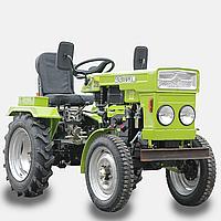Трактор DW 150R  (с гидравликой, 4,00-12/6,5-16) + Грунтофреза