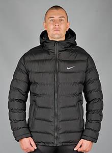 Двухсторонняя зимняя спортивная куртка Nike (Nike-zzz-85666-1)