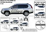 Молдинги на двері для Nissan X-Trail T31 2007-2014, фото 5