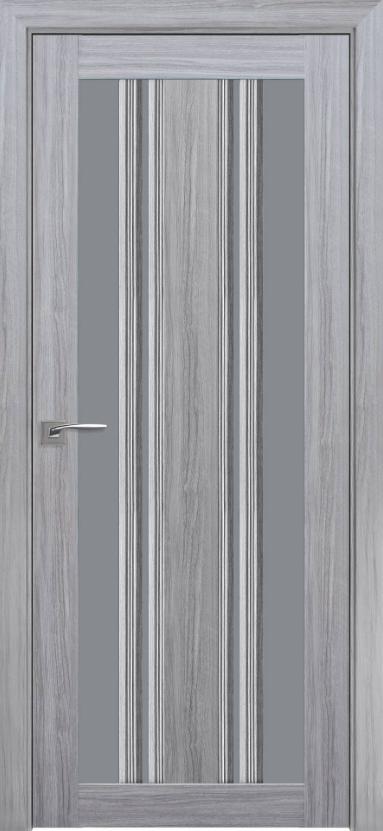 """Двері міжкімнатні новий стиль Італьяно """"Флоренція С2 BLK,BR,GRF""""60-90см перли срібний"""