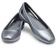 Женские туфли Crocs Sloane Flat original W7 37-38 (24 см) США оригинал балетки лодочки закрытые крокс