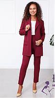 Брючный костюм с пиджаком  В 027 /03