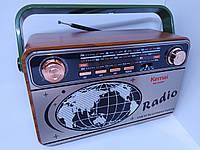 Радио приёмник ретро Kemai MD-503BT, фото 1