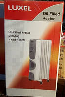 Масляной обогреватель Luxel Oil-Filled Heater Nsd-200 7 Fins 1500W