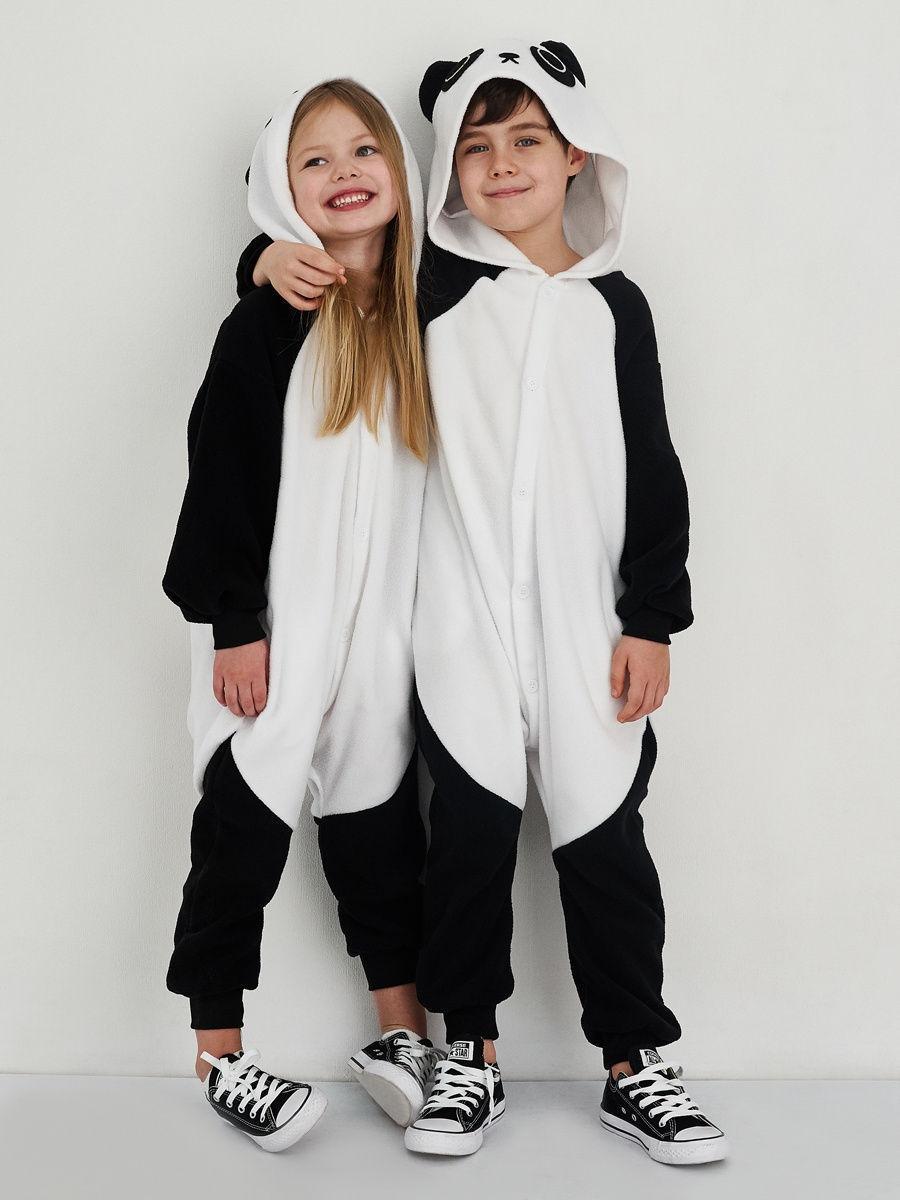 Пижама кигуруми для детей Панда Кунг Фу 110 (105-115см)