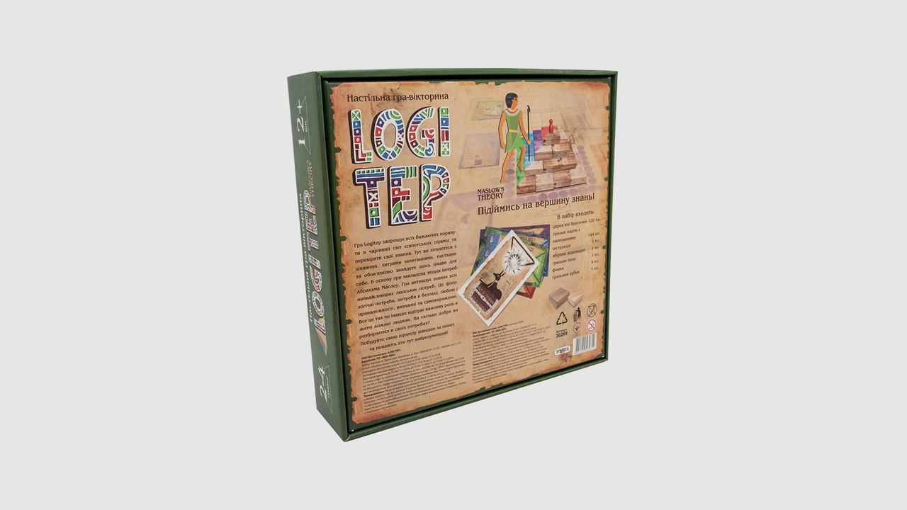 Игра развлекательная Logi step 30269. На украинском языке
