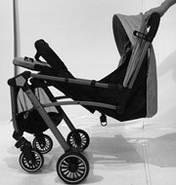 Детская прогулочная коляска Fiona Dark Grey Гарантия качества Быстрая доставка, фото 4