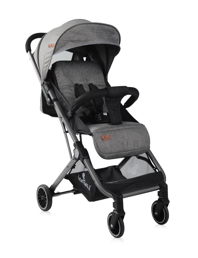 Детская прогулочная коляска Fiona Dark Grey Гарантия качества Быстрая доставка