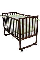 Детская кроватка Соня ЛД 13 (орех)