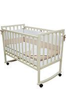 Детская кроватка Соня ЛД 13 (слоновая кость)
