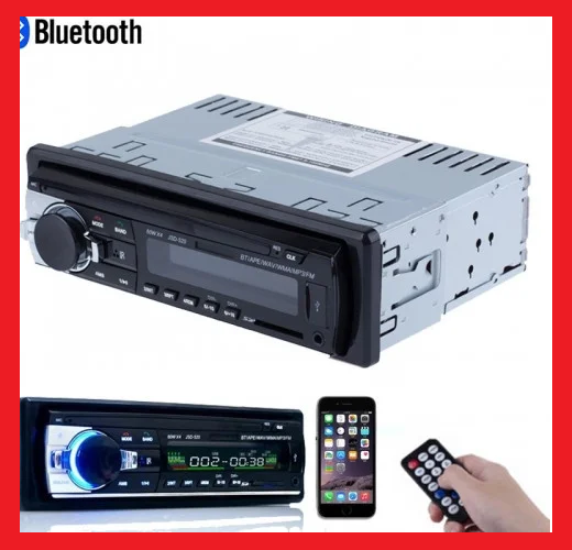 Автомагнитола Pioneer JSD-520 Bluetooth+USB+SD+AUX 4x60W