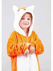 Пижама кигуруми для детей Лиса 110 (105-115см)