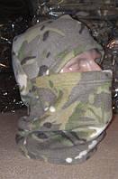 Флисовая шапка-шарф-балаклава  MTP