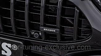 BRABUS emblem on radiator grille for Mercedes AMG GT 63S Х290
