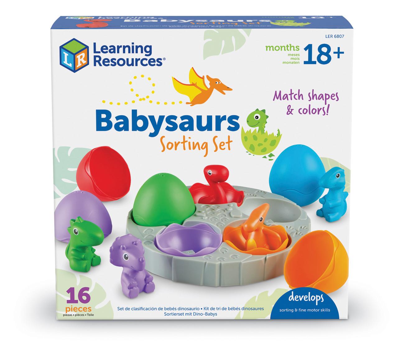 """Набор-сортер """"Маленькие динозавры"""" Learning Resources"""