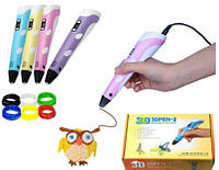 3D ручка PEN-2 с LCD-дисплеем + Пластик!