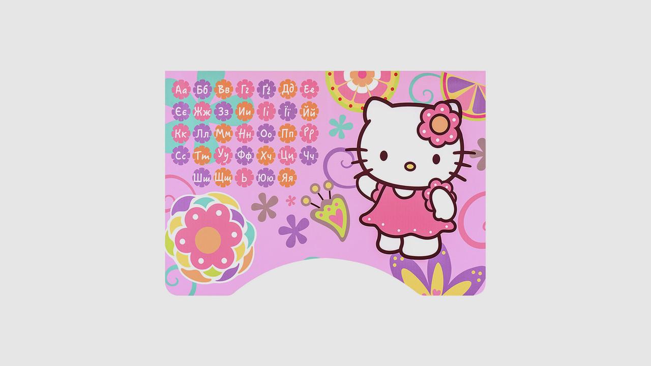 Парта со стульчиком. W2071-48-5.Высота регулируется.Алфавит.Мятный.Hello Kitty