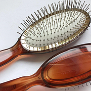 Масажна щітка Salon Professional 6233TTH гребінець велика з металевою щетиною