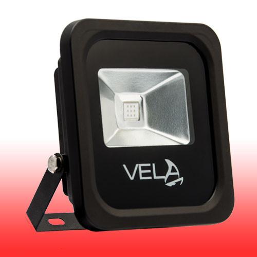 Уличный LED прожектор LED 10Вт красный IP65