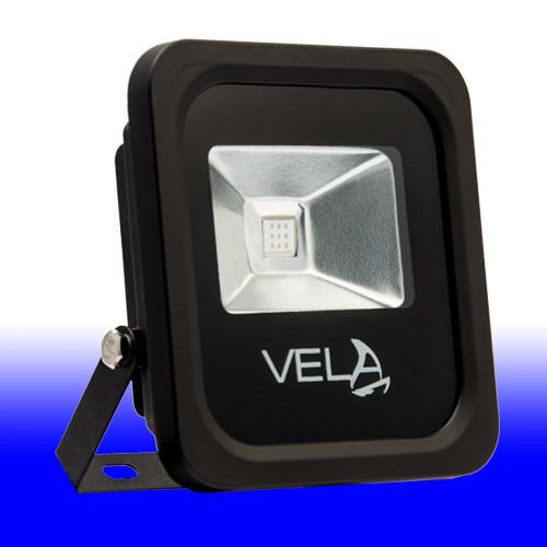 Фасадний прожектор LED VELA 10W синій IP65