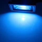 Фасадний прожектор LED VELA 10W синій IP65, фото 2