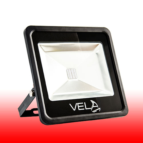 Вуличний LED прожектор 30W червоний IP65