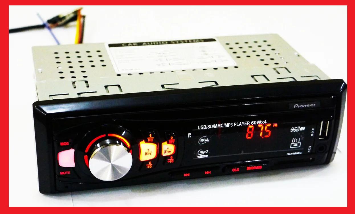 Автомагнитола Pioneer CDX-GT6308 Usb+Sd+Fm+Aux+ пульт (4x50W)
