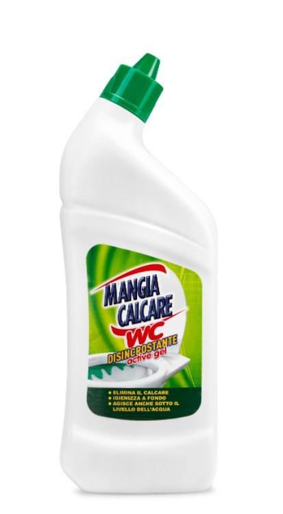 Жидкое моющее средство для унитаза с отбеливателем MANGIACALCARE 750 мл