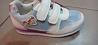Дитячі кросівки для дівчинки з LED 26-16.5 см, фото 1