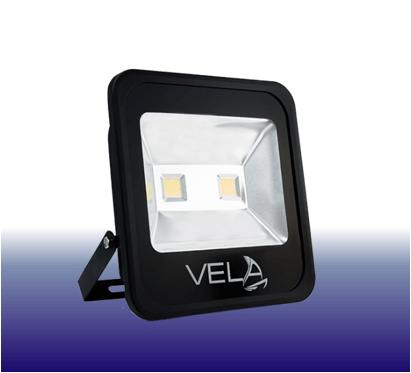 Вуличний LED прожектор 100W синій IP65