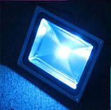 Вуличний LED прожектор 100W синій IP65, фото 3
