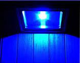Вуличний LED прожектор 100W синій IP65, фото 4