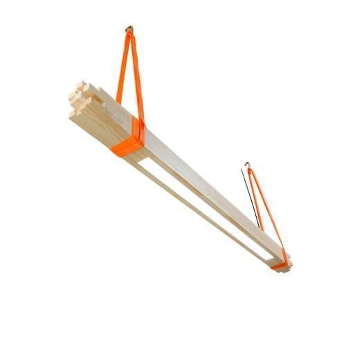 Деревянный линейный светильник Vela Bambuk 30Вт сосна 1550мм