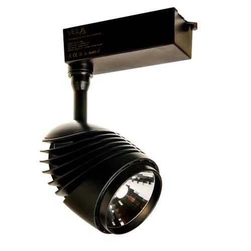 Трековый LED светильник VL-COB-3004L 30W 3000К черный