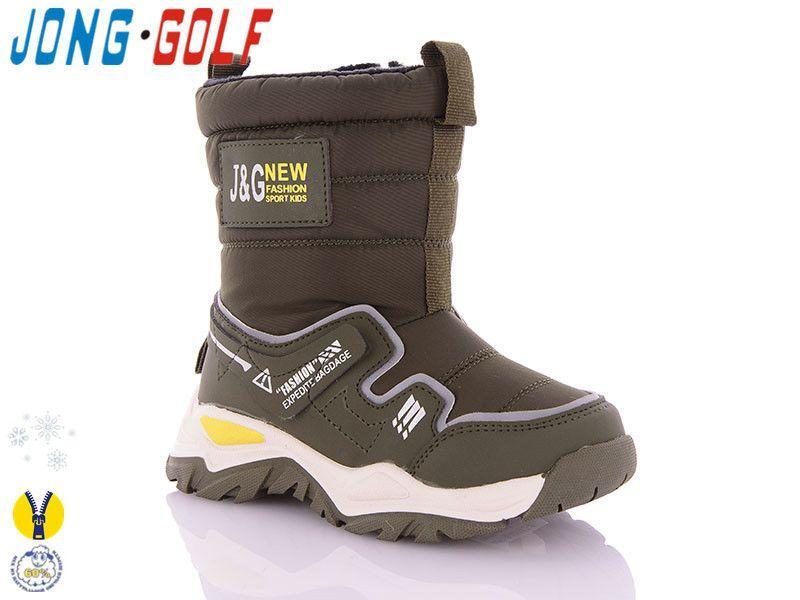 Детские зимние дутики Jong Golf оптом, 25-30 размер, 8 пар в ящике