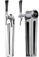 Колонна для розлива пива NAKED ONE TAPLIGHT, с краном с компенсатором, Lindr, Чехия