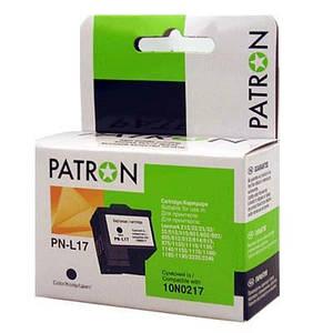 Картридж PATRON LEXMARK 10N0217 (PN-L17) BLACK (CI-LEX-0217-B-PN)