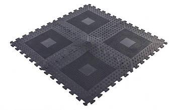 Коврик-пазл резиновый Zelart 118х118 см (FI-5349)