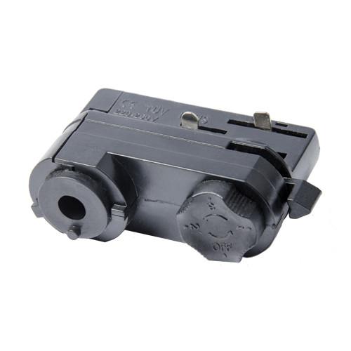 Адаптер 3 фазний для шинопровода VL-GH-4 чорний