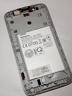 Модуль сенсор + дисплей Lenovo A328 оригинал б.у., фото 2
