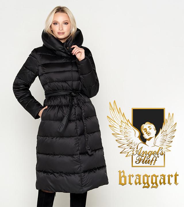 Воздуховик Braggart Angel's Fluff 31515   Женская зимняя куртка черная
